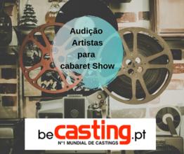 Audição para cabaret Show