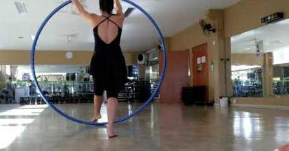 Cyr Wheel improvisation w/ Lindsey Stirling Crystallize song
