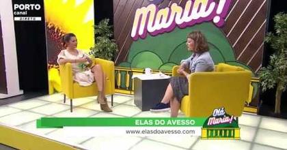 """O livro """"Elas do Avesso"""" de Márcia Augusto no Porto Canal"""